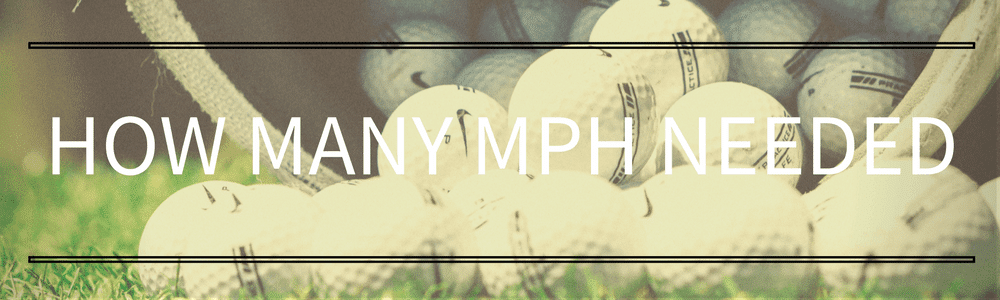 How many MPH needed