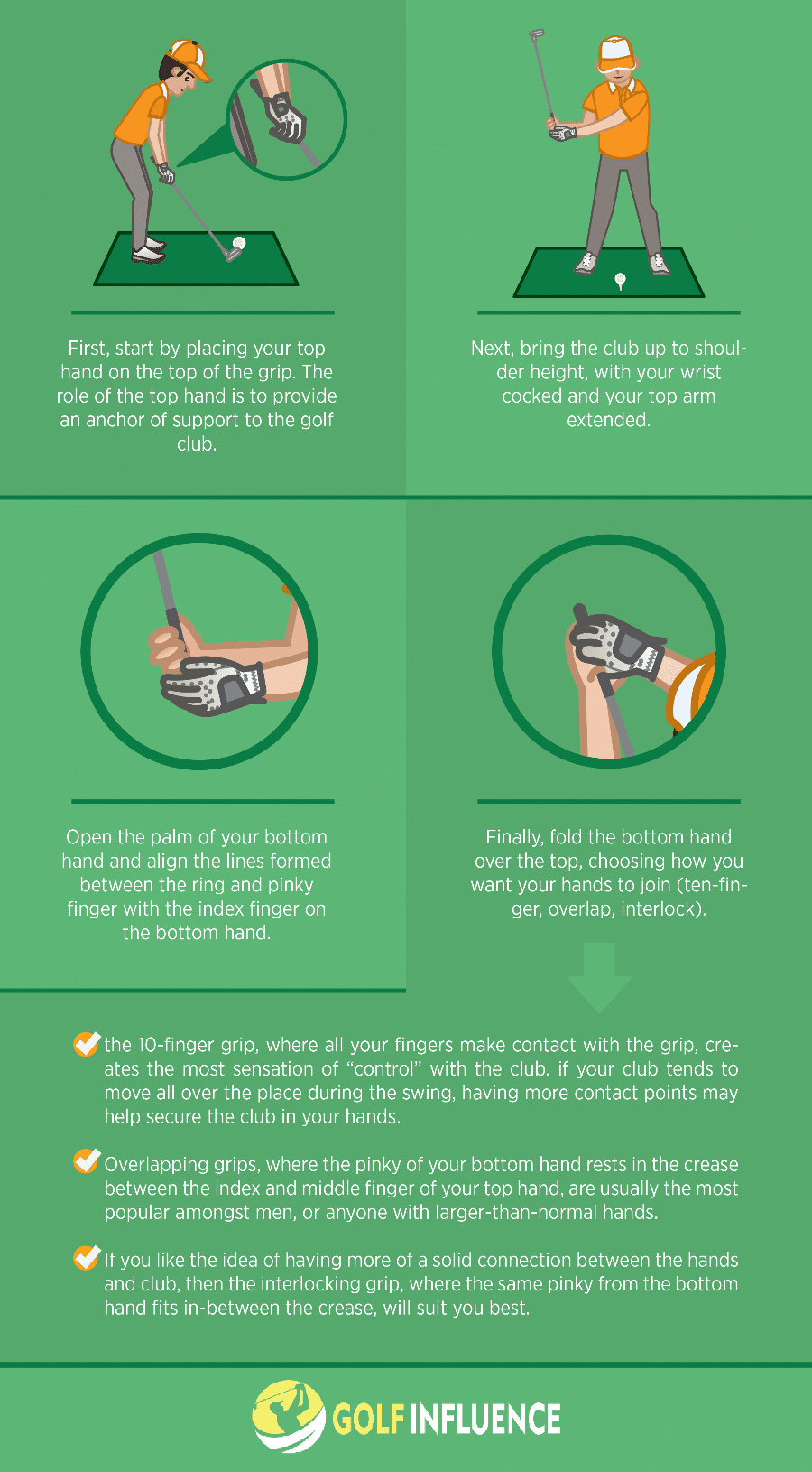 How To Hold The Golf Club