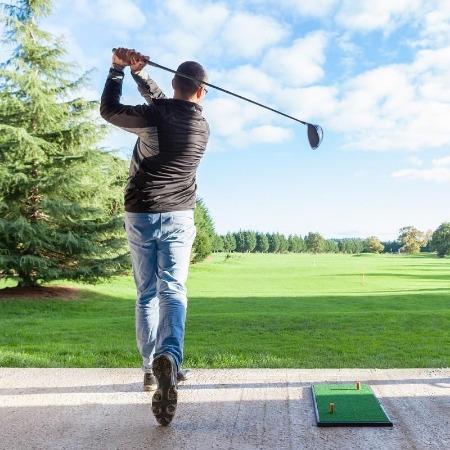 Golf Mat - Portability