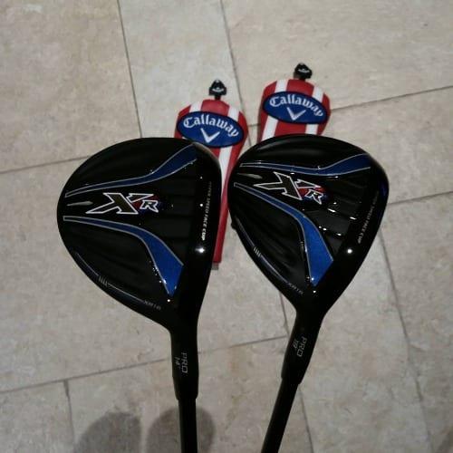 2 Golf Clubs